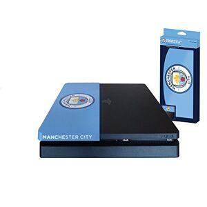 SUBY8 Subsonic Faade (coque de personnalisation) pour PS4 Slim Faceplate de customisation pour Playstation 4 Slim Licence officielle MCFC Manchester City - Publicité