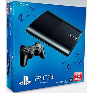 Sony Console PS3 Ultra slim 12 Go noire - Publicité