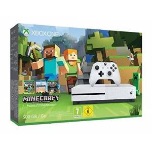 Microsoft Console Xbox One S 500 Go Pack Minecraft - Publicité