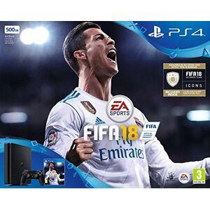 Sony PS4 Slim 500Go + FIFA 18 - Publicité