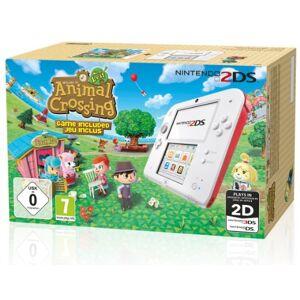 Nintendo Console Nintendo 2DS blanc & rouge + Animal Crossing : New Leaf - Publicité