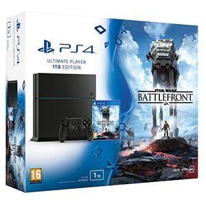 Sony Console PlayStation 4 1 To Jet Black + Star Wars : battlefront - Publicité