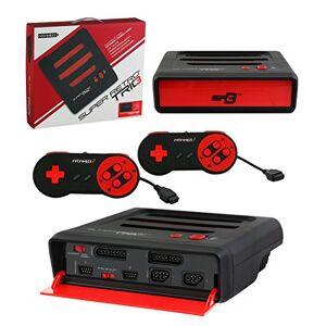 Retro-Bit Retro Bit Super Retro Trio 3 in 1 Console Red/Black, NES/SNES/Mega Drive PAL Version - Publicité