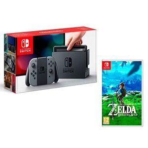 Nintendo Switch console Gris 32Go + The Legend of Zelda: Breath of the Wild - Publicité