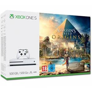 Microsoft Xbox One S 500 GB Assassin's Creed Origins Pack - Publicité