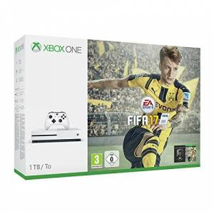 Microsoft Pack Console Xbox One S 1 To + Fifa 17 - Publicité