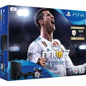 Sony Playstation 4 Slim 1TB incl. 2 Controller / FIFA 18 - Publicité
