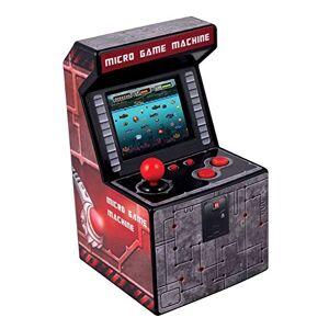 ITAL Mini Arcade Retro / Borne Portable Geek avec 250 Jeux Intégrés / 16 Bits / Gadget Parfait comme Cadeau pour Enfants Et Adultes (Rouge) - Publicité