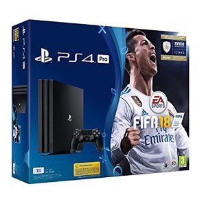 Sony Playstation 4Pro + fifa18[Bundle] [importation italienne] - Publicité