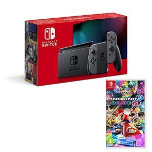 Nintendo Switch console Gris 32Go + Mario Kart 8 Deluxe - Publicité