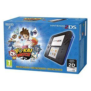 Nintendo Console Nintendo 2DS Noir / Bleu +  Yo-Kai Watch - Publicité
