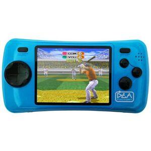 Console de jeu DEA 96 Games bleue - Publicité
