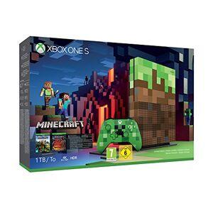 Microsoft Xbox One S 1 To Minecraft Edition Limitée - Publicité