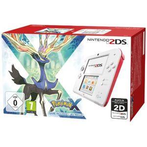 Nintendo Console Nintendo 2DS blanc & rouge + Pokémon X édition limitée - Publicité