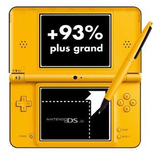 Nintendo Console Nintendo DSi XL jaune - Publicité