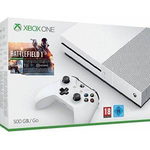 Microsoft Pack Console Xbox One S 500 Go + Battlefield 1 - Publicité