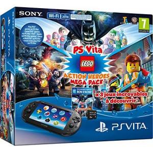 Sony Console Playstation Vita + Lego Mega Pack + Carte Mémoire 8 Go pour PS Vita - Publicité