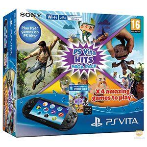 Sony Console Playstation Vita + Hits Mega Pack + Carte Mémoire 8 Go pour PS Vita - Publicité