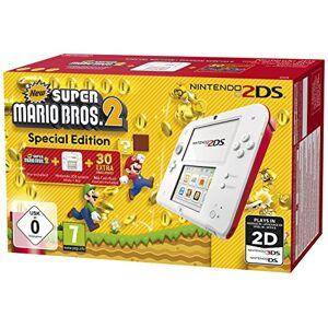 Nintendo Console Nintendo 2DS blanc & rouge + New Super Mario Bros. 2 édition spéciale - Publicité