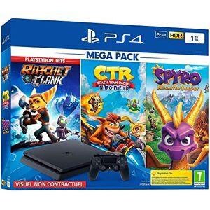 PlayStation PS4 1 To Crash Team Racing + Spyro + RC Hits noire - Publicité