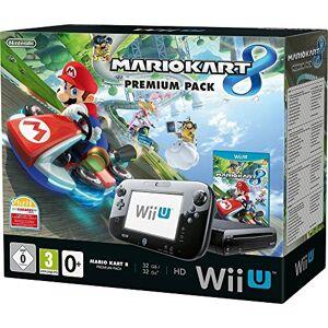 Nintendo Console Nintendo Wii U 32 Go noire + Mario Kart 8 premium pack - Publicité
