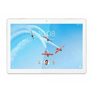 "IBM Tab M10 Tablette, cran 10,1"" HD, Processeur Qualcomm Snapdragon 429, 32 GB Extensible jusqu' 128 GB, RAM 2 GB, Wi-Fi, Android Oreo, Polar White - Publicité"