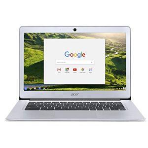 Acer Chromebook 14 CB3-431 (Intel Celeron N3060, 2 Go de RAM, 32 Go eMMC, 14 Pouces HD Display, Google Chrome OS, Argent) - Publicité