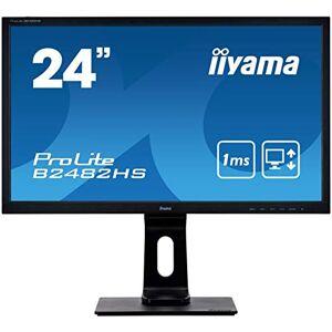 """IIYAMA Moniteur  24"""" *B2482HS-B5* FHD/LED/VGA/DVI/HDMI/1ms Noir*7543 - Publicité"""