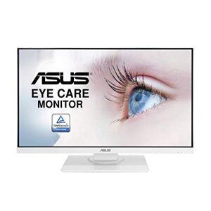 """Asus VA24DQLB-W Ecran PC 23,8"""" Blanc FHD Dalle IPS 16:9-75Hz 5ms 1920x1080-250cd/m DP, HDMI, VGA et 2X USB Flicker Free Filtres de lumire Bleue AMD FreeSync - Publicité"""
