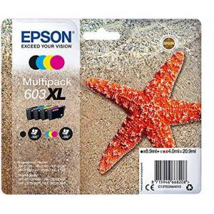 Epson Tinta Multipack XL STRELLA DE MAR 4 TINTES 603XL RF/AM Multi - Publicité