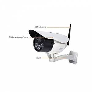 PeiteMadun Home IP Cam sans Fil Enregistrement en Boucle Sécurité Surveillance caméra IP pour interphone pour iphone Samsung, sécurité caméra IP 720P HD NO6-1.7P - Publicité