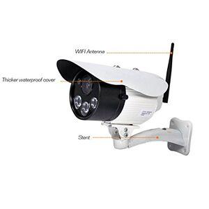 Surrecocean Caméras de Surveillance, Surveillance VidéO Caméra Intérieure IP WiFi Motorisée Caméra WiFi IP/Haut-Parleur Intégré du Microphone & Carte Mémoire 32 Go TF X32-7P - Publicité