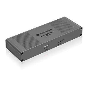 OEHLBACH Highway HDMI Splitter 1:2 Séparation Active sans Perte des transmissions de signaux Audio et vidéo Idéal pour 4K, HDR, 3D, 1080p, 2160p, UHD, 4K avec 60Hz Brun métallisé - Publicité