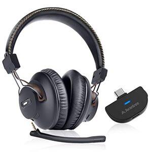 Avantree C519M Set Casque de Jeu sans Fil et Transmetteur Audio Bluetooth 5.0 USB C pour Nintendo Switch, Ordinateur Bureau PC, Plug & Play, Chat et Musique Simultanés, Faible Latence, Autonomie 40h - Publicité