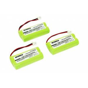 INTENSILO 3X Batterie Compatible avec Siemens Gigaset A260 Duo, A260 Trio, A265 téléphone Fixe remplace V30145-K1310-X359 (800mAh, 2.4V, NiMH) - Publicité