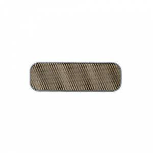 KREAFUNK aGroove Cool Haut-Parleur Portable sans Fil Rechargeable pour iPhone, iPad et lecteurs MP3 Gris - Publicité