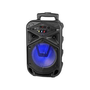 Trevi XFEST XF 350 Haut-Parleur amplifié Portable avec MP3, USB, microSD, AUX-in, Bluetooth, Batterie intégrée, karaoké Party Speaker avec Microphone Dynamique avec cble Inclus - Publicité