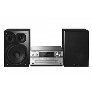 Panasonic Systme Hi-FI  SC-PMX152EGS (120 W RMS, 100 kHz Super Sonic Tweeter, Bluetooth, Airplay, Radio), Argent - Publicité