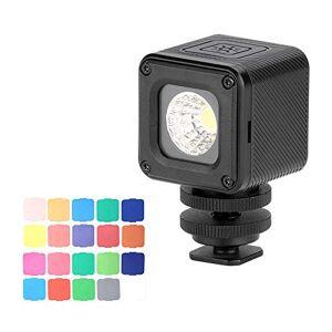 Docooler Ulanzi L1 Pro Versatile Mini Lampe Vidéo  LED tanche Dimmable 5500K Lumire de Remplissage Photographique CRI 95 avec 20 Filtres de Couleur pour GoPro 7/6/5 pour DJI Drones Osmo Pocket - Publicité