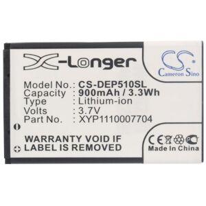 Cameronsino CS-DEP510SL Batterie 900mAh Compatible avec [Doro] 6021, 6030, 6050, 6120, 6121, 6171, PhoneEasy 500, PhoneEasy 500GSM, PhoneEasy 506, PhoneEasy 508, PhoneEasy 508GSM, PhoneEasy 509, PhoneEasy 509GSM - Publicité