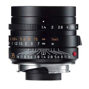 Leica Summilux-M 35 mm f/1.4 Objectif Noir - Publicité