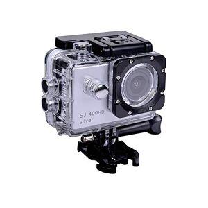 Tracer Explore SJ 400 Silver Caméra de Sport HD Ready 1280 x 720 p, Adultes Unisexe, Argent, Taille Unique