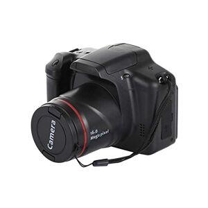 ZQALOVE Portable 1080P caméscope Appareil Photo numérique Full HD 1080P caméra vidéo 16x Zoom Interface AV HD enregistreur vidéo Appareil Photo, Couleur: Noir, Expédié: France (Color : Black)