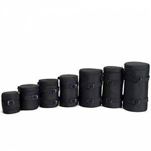 DIODIOR Sac Photo Accessoire Photographique DSLR Pochette pour Objectif Pochette pour Appareil Photo Canon Nikon Sony, E15 - Publicité
