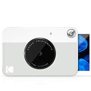 Kodak Printomatic Appareil Photo  Impression Instantanée avec Papier Autocollant Zink 5 x 7,6 cm, Gris - Publicité