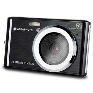 Agfaphoto AGFA Photo Realishot DC5200 Appareil Photo Numérique Compact (21 MP, Ecran LCD 2.4, Zoom Digital 8X, Batterie Lithium) Noir - Publicité