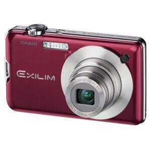 """Casio Exilim Card EX-S10 Appareil photo numérique Ecran LCD 2,7"""" 10 MP Mode YouTube Capture Rouge - Publicité"""