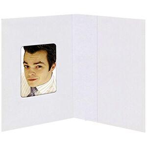 Daiber GMBH  Card Cadre photo blanc mat 38 x 58 mm - Publicité