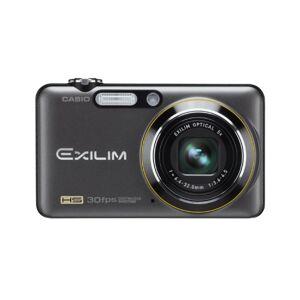 """Casio Exilim EX-FC100 Appareil Photo Compact Numérique 9,1 Mpix Zoom Optique 5x Ecran LCD 2,7"""" Stabilisé Noir - Publicité"""