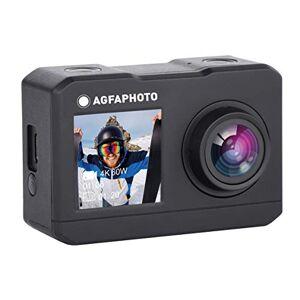 Agfaphoto Realimove AC7000  Caméra dAction Numérique étanche 30m (True 2.7K, 16MP, Double écran LCD, Batterie Lithium, 10 Accessoires Inclus, WiFi) Noir - Publicité
